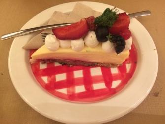 Dessert de chez Burgerlab