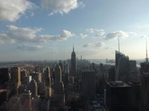 Top of the Rock vue sur l'empire